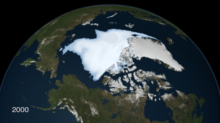 Again about a decade later, the Arctic's oldest, thickest sea ice shriveled to a new record minimum.