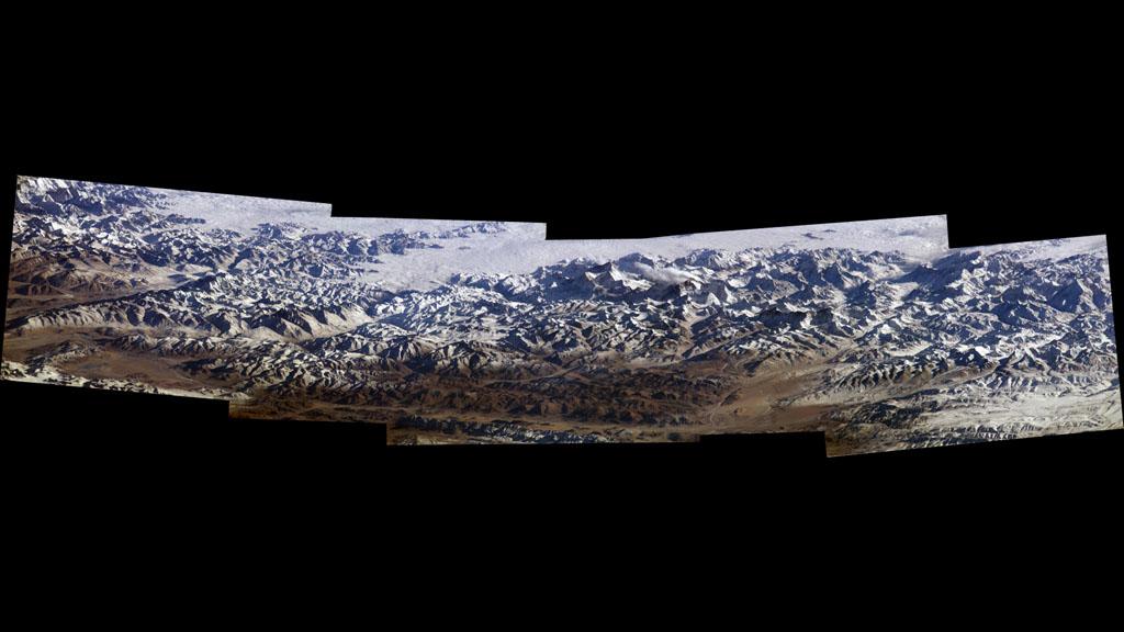 nasa himalayas from space - photo #11