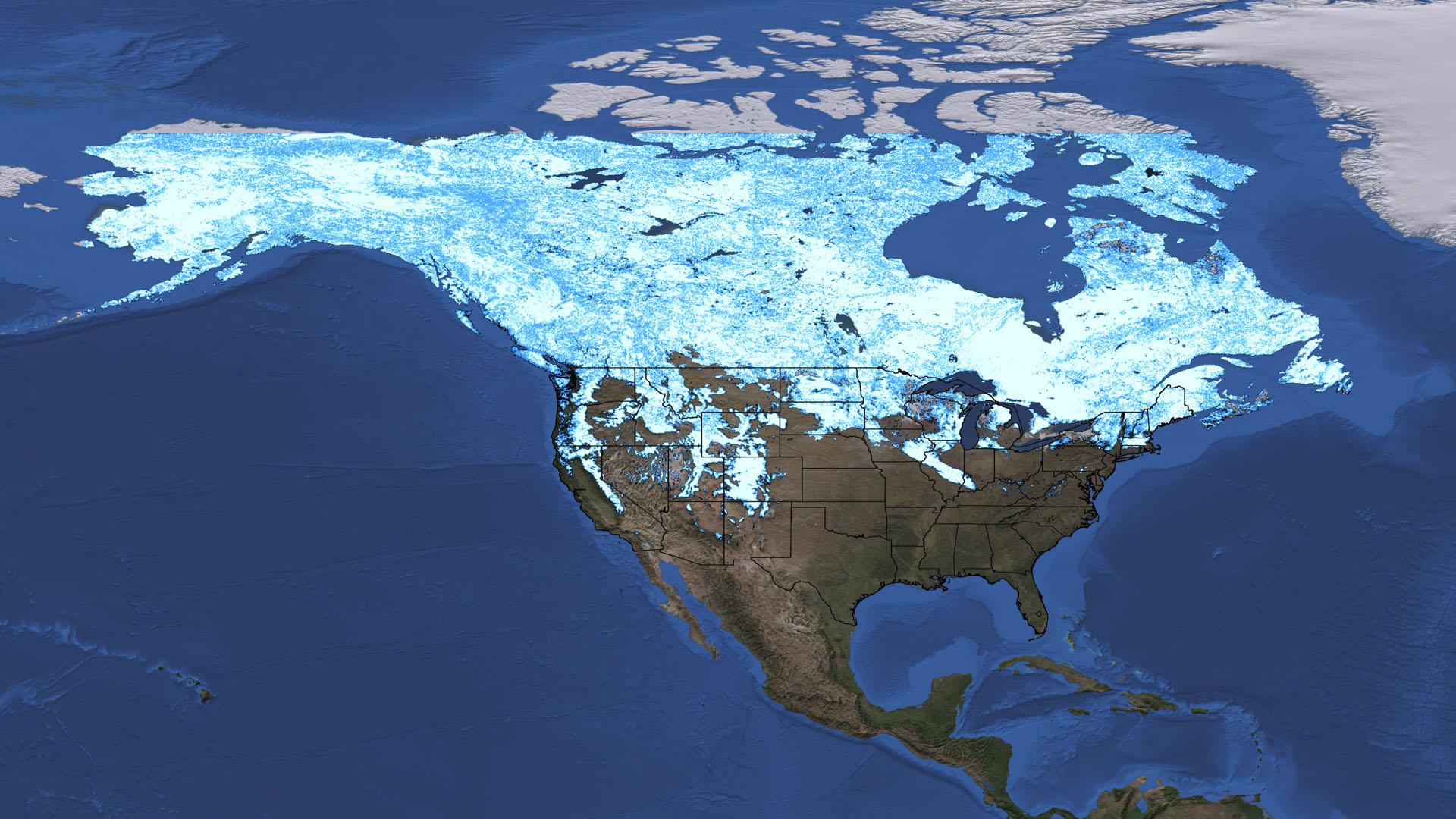 NASA Viz: Winter, Interrupted