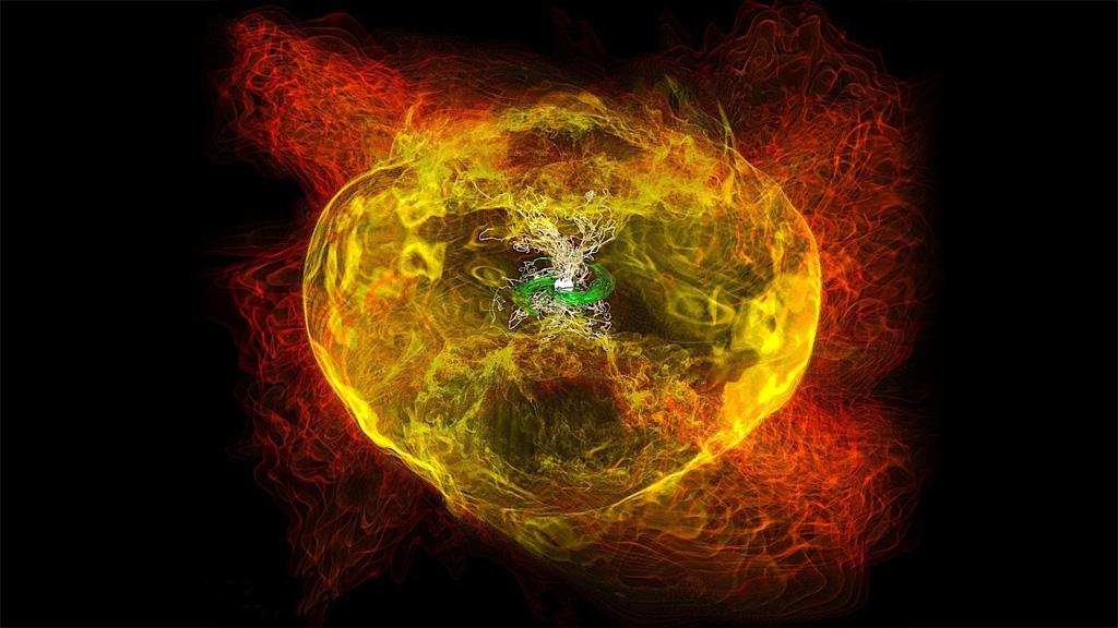 neutron star collision nasa - photo #8
