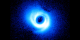 What created the unusual spiral arms surrounding this star?