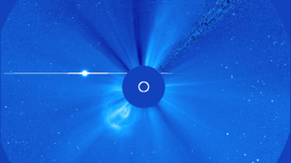 Link to Related Story entitled: SOHO LASCO View of Approaching Venus Transit