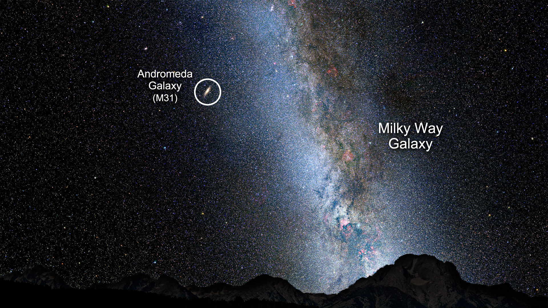 andromeda galaxy distance from earth - 1280×720