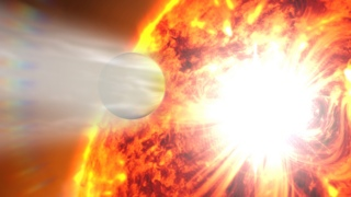 Link to Recent Story entitled: Hubble, Swift Detect First-ever Changes in an Exoplanet Atmosphere