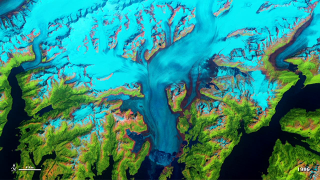 Timelapse of Columbia Glacier, Alaska, from 1986-2011.