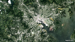 Link to Recent Story entitled: Landsat 40th Liveshot City Images