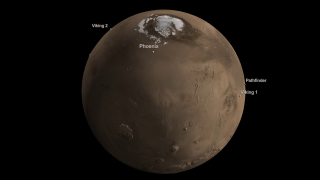 Link to Recent Story entitled: Mars Landing Sites