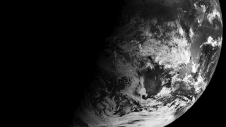 Meteosat-9 captures the view of weather over Europe and Africa.