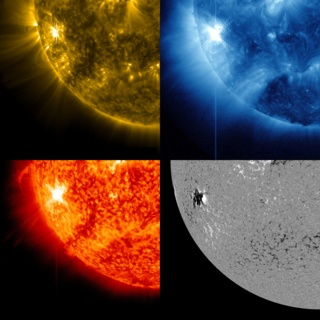link to gallery item Active Region on the Sun Emits Another Flare (2012-10-23)