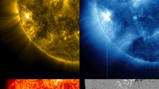 Link to Related Story entitled: Active Region on the Sun Emits Another Flare