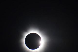 Movie of the total solar eclipse of Nov. 13, 2012. Credit:  CNES/CNRS/NASA