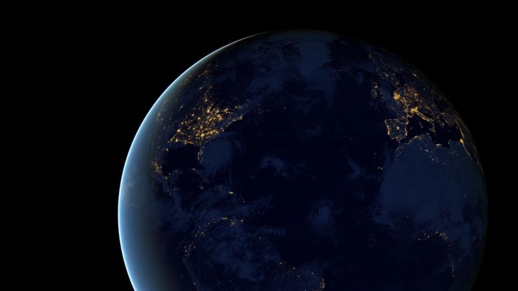 night light footprint north america nasa - photo #8
