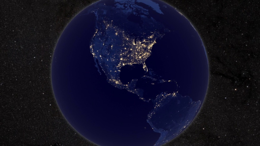 Gms Earth At Night