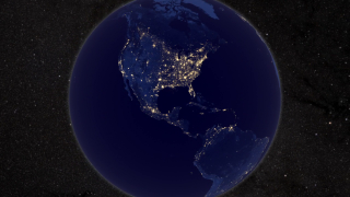 Link to Related Story entitled: Earth At Night