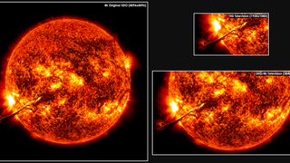 Link to Recent Story entitled: SDO Resolution Comparison Resource Page