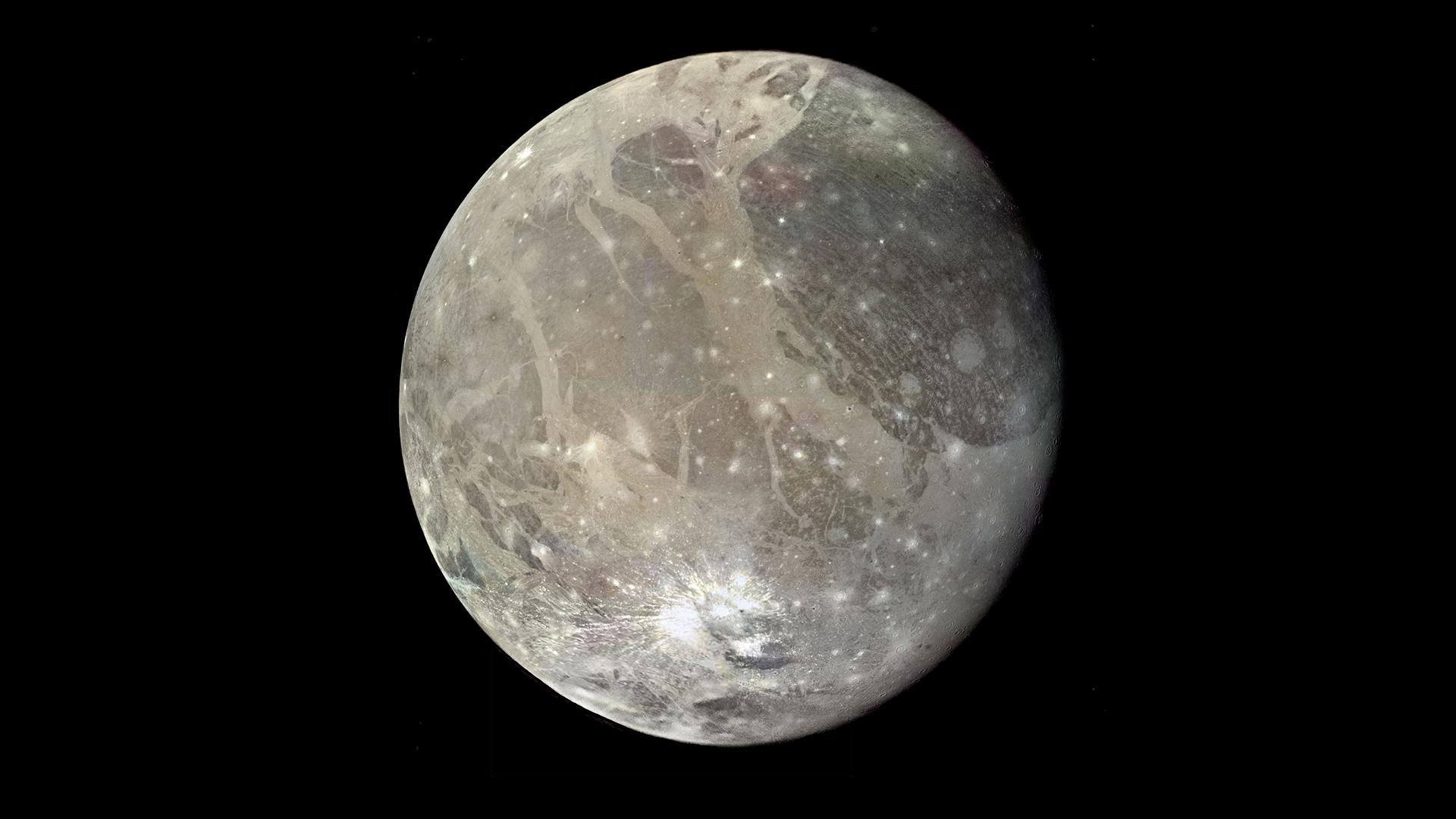 NASA Viz: Jupiter's Many Moons