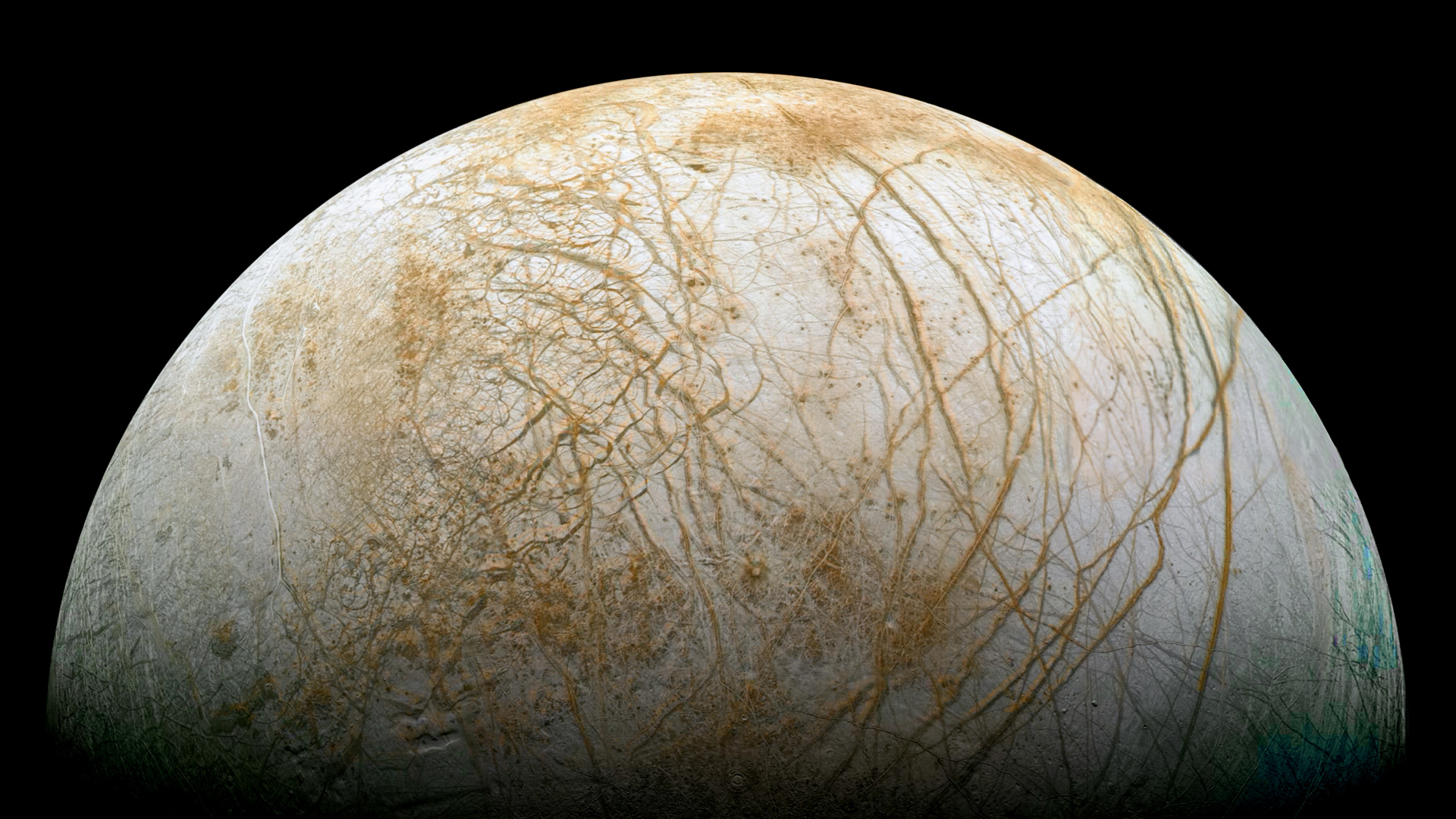 Hard Water Areas >> NASA Viz: Europa's Chaos Terrains