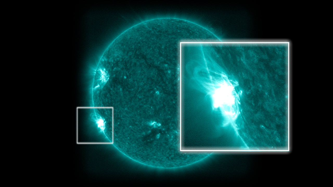 GMS: X Marks the Spot: SDO Sees Reconnection