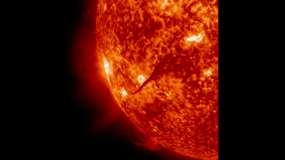 This two part movie shows an Aug. 31 coronal mass ejection (CME) from the sun , the same event that caused depletion and refilling of the radiation belts just after the Relativistic Electron-Proton Telescope (REPT) instruments on the Van Allen Probes were turned on. The first movie shows the CME as captured by NASA's Solar Dynamics Observatory (SDO); the second shows several views of the same CME from the Solar and Heliospheric Observatory (SOHO). Credit: NASA