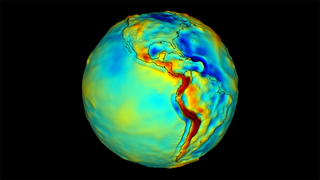 Link to Recent Story entitled: Mapping Earth's Gravity
