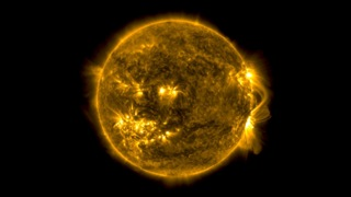 This video shows the sun in the 171 Ångström wavelength of extreme ultraviolet light.  It covers a time period of June 2, 2010 to April 15, 2013 at a cadence of one frame per day.  Early in the sequence, SDO's coverage was intermittent, so not every day is represented.  171 Ångström light highlights material around 600,000 Kelvin and shows features in the upper transition region and quiet corona of the sun.