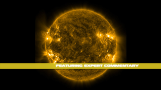 This version of SDO:Three Years in Three Minutes is extended and narrated by NASA's Goddard Space Flight Center heliophysicist Alex Young.  He highlights many interesting aspects of the video and points out several of the single-frame events that appear in it.