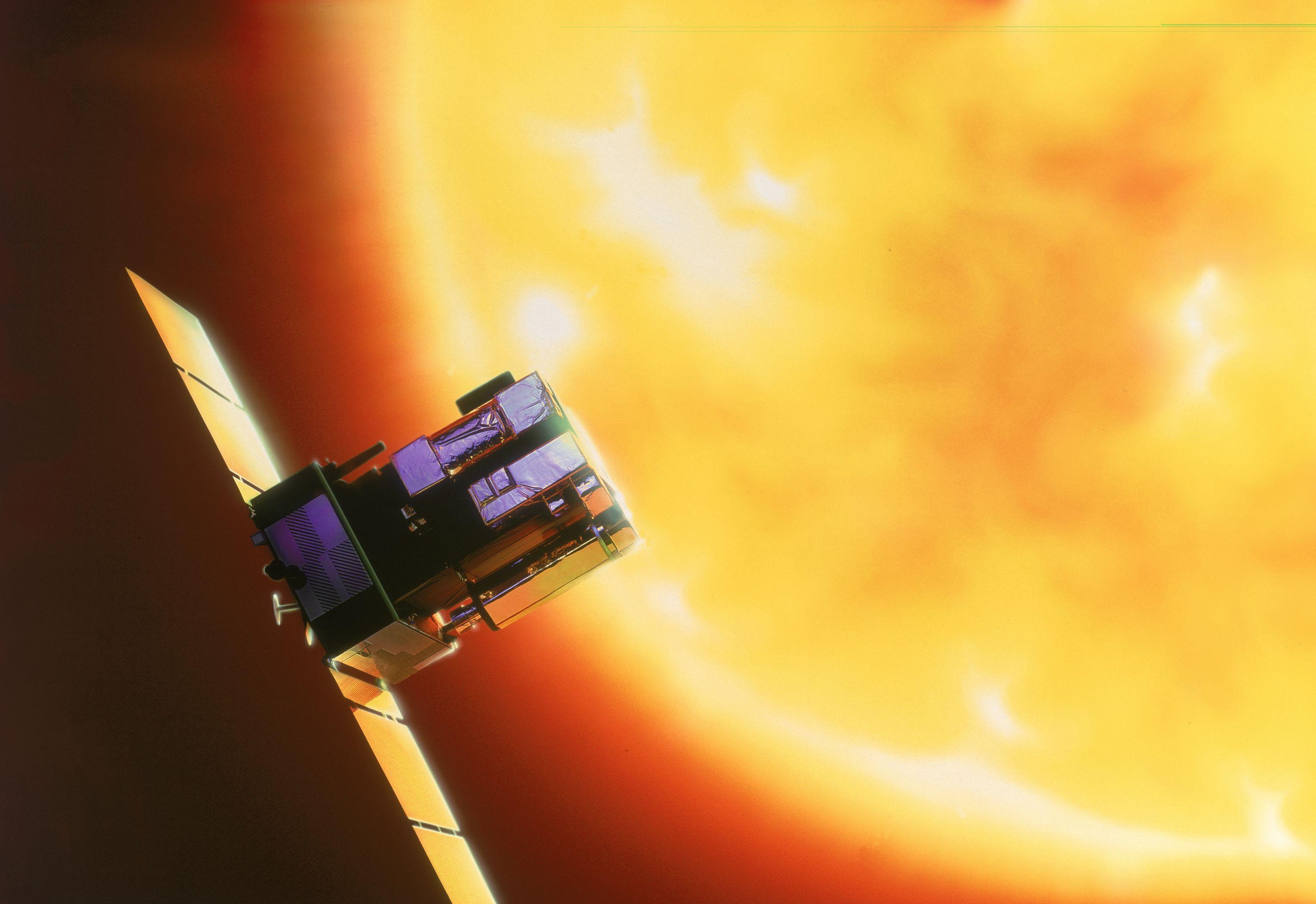 APOD: 2005 November 9 - A Solar Prominence from SOHO