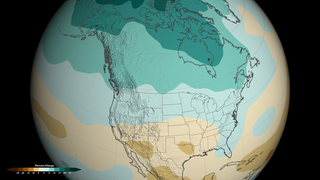 By 2050, the low-emissions scenario (550 ppm CO2) shows widespread precipitation changes across the continental U.S.