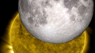 Link to Recent Story entitled: The Moon and the Sun: Two NASA Missions Join Their Images