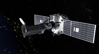 This animation shows the opening of the telescope aperture door.  The door was opened on July 17, 2013 on the 20th day of the mission. The primary reason for delaying the door opening was to allow sufficient time for any additional outgassing that occurs in the higher vacuum of space. This also allows for the checkout of the spacecraft and instrument systems that could be performed with the door closed. Credit: NASA/Goddard Space Flight Center/Conceptural Image Lab