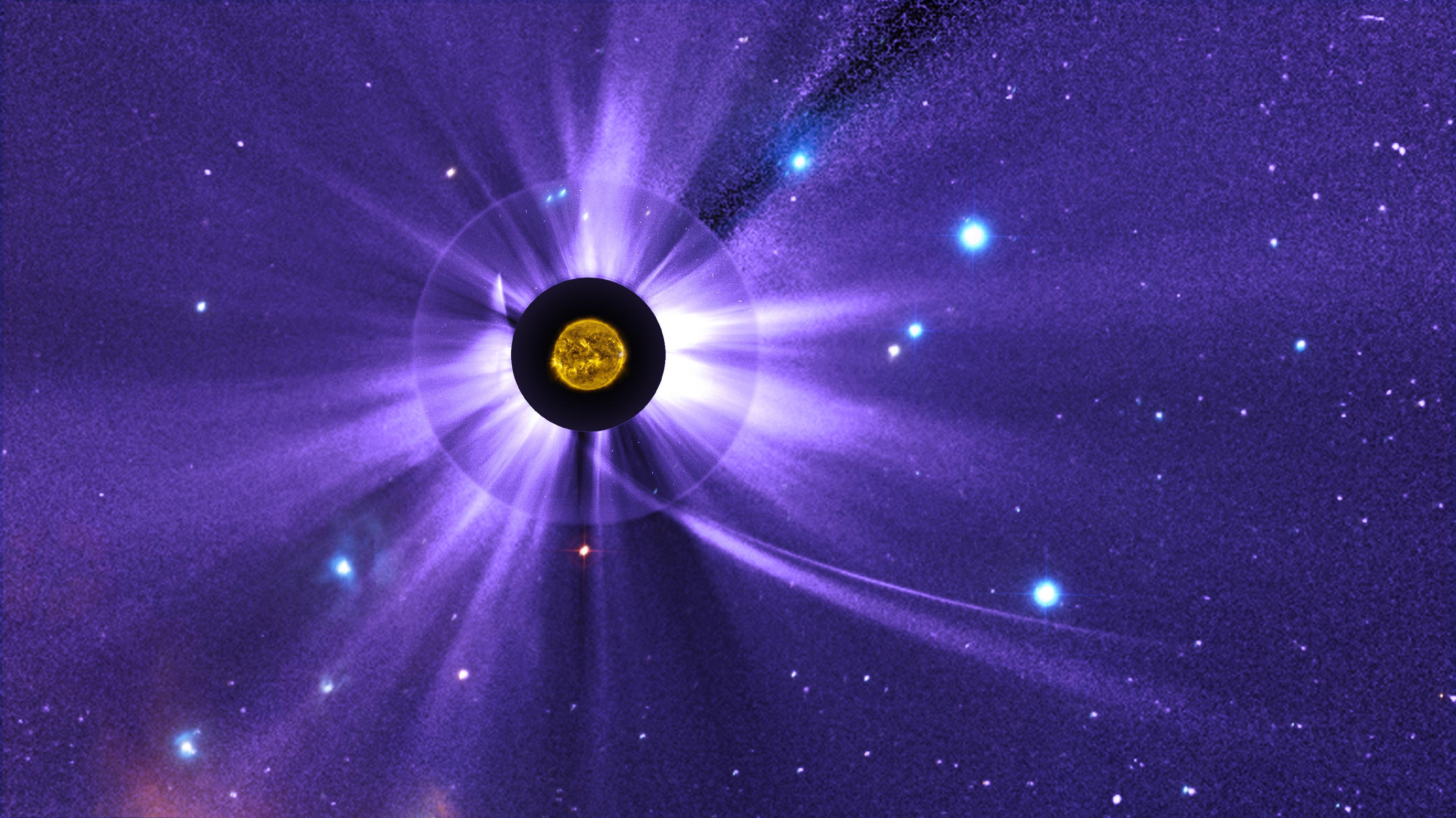 GMS: NASA's Solar Observing Fleet Watch Comet ISON's ...