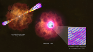 Link to Recent Story entitled: Glimpsing the Infrastructure of a Gamma-ray Burst Jet