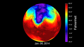 On Jan. 6, 2014, temperatures reached record lows in many parts of the eastern U.S.