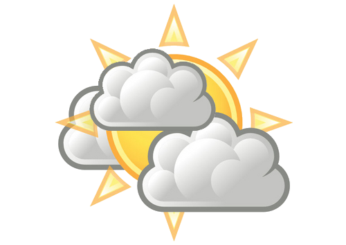 partly sunny icon - DriverLayer Search Engine
