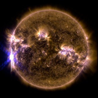 link to gallery item NASA's SDO Provides Images of Significant Solar Flare (2014-02-25)