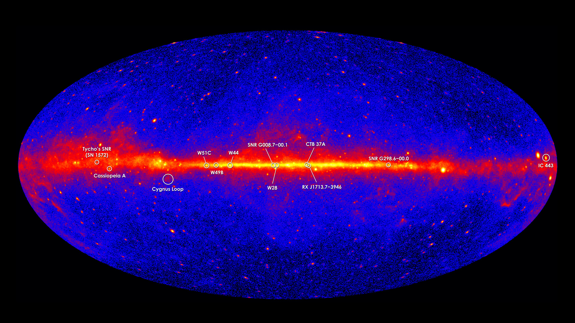 Nasa Viz The Gamma Ray Sky