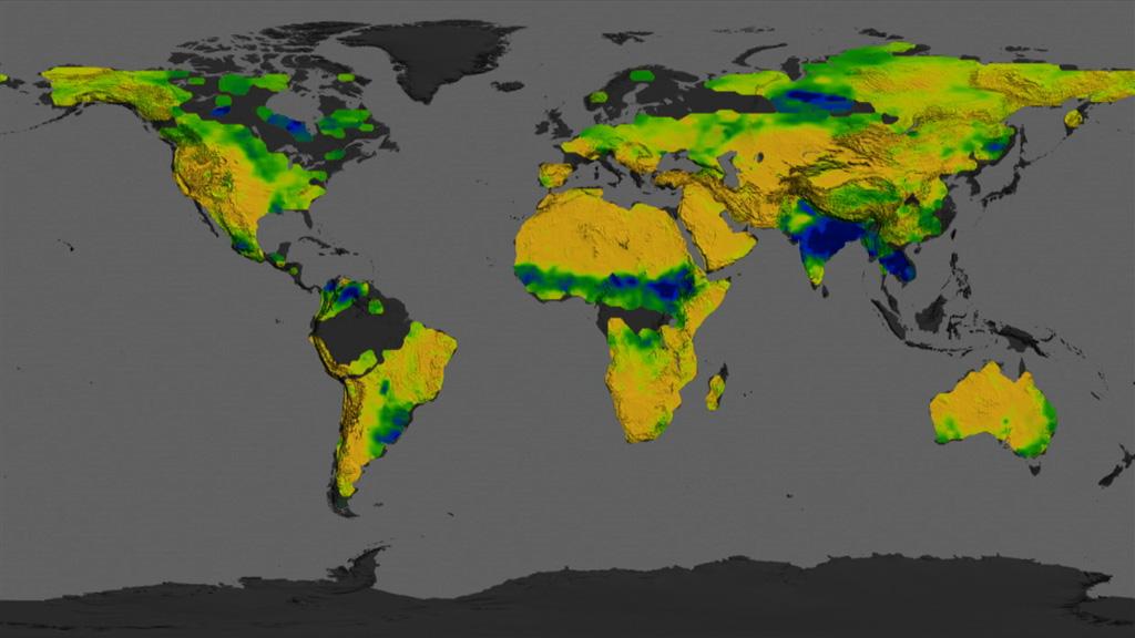 NASA Viz: Mapping Soil Moisture