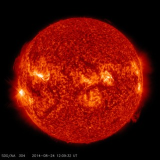 link to gallery item Late Summer M5 Solar Flare - August, 24, 2014 (2014-08-25)