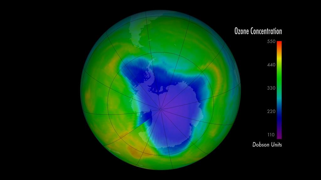nasa ozone hole - photo #25