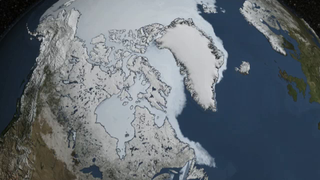 Link to Recent Story entitled: Instagram: Arctic Sea Ice Minimum 2014