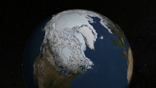 Link to Recent Story entitled: Arctic Sea Ice Reaches 2014 Minimum Extent