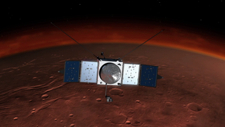 Link to Recent Story entitled: MAVEN Arrives at Mars Live Shot 2014