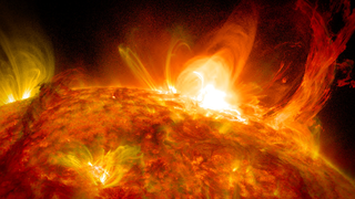 link to gallery item Sun Emits Mid-Level Flare on October 2, 2014 (2014-10-03)