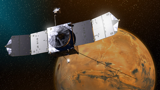Link to Recent Story entitled: MAVEN at Mars