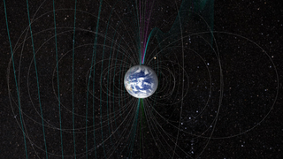 Link to Recent Story entitled: Modeling Earth's Magnetism