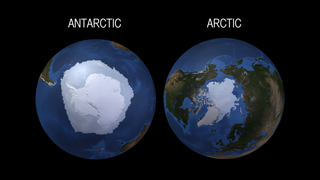 Link to Recent Story entitled: The Arctic and the Antarctic Respond in Opposite Ways