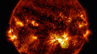Link to Recent Story entitled: Giant Sunspot Continues to Erupt with Substantial Flares