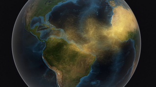 Link to Related Story entitled: Satellite Tracks Saharan Dust To Amazon In 3-D