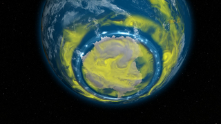Link to Recent Story entitled: Big Ozone Holes Headed For Extinction By 2040