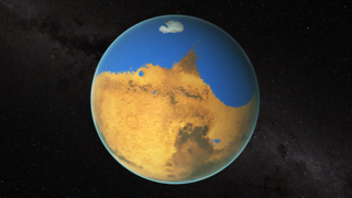 Link to Related Story entitled: Mars' Ancient Ocean